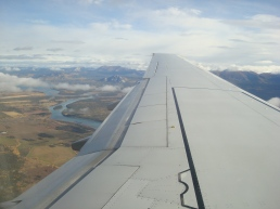 Flying into Whitehorse
