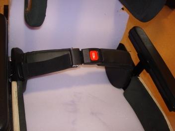 Arcufit-style positioning belt