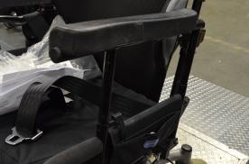 Custom armrest height extension tubes