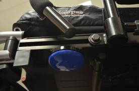 Switch mounted under seat pan