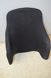 Custom contoured backrest