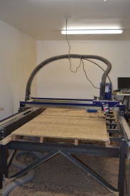 CNC (computerized numeric cutter)