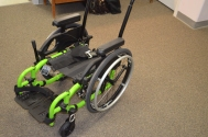 NEWS! Helio now has depth adjustable canes on their pediatric wheelchairs. These can also be ordered on adult sized wheelchairs