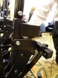 Dynamic backrest component