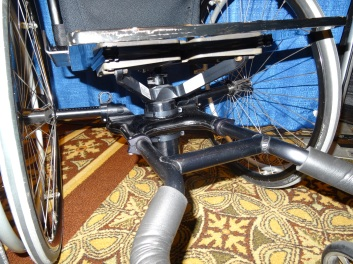 Icon wheelchair suspension