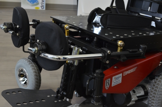 Ranger Express Power Wheelchair knee blocks