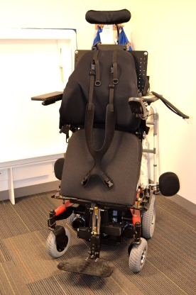 Ranger Express Power Wheelchair with Stander