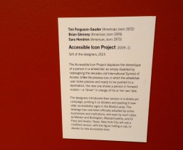 MoMA, The Accessible Icon Project