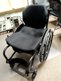 Tilite TR Series 3 carbon fiber rigid manual wheelchair with Ride custom cushion and ADI deep backrest