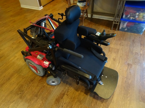 Custom power wheelchair transfer system: Completed!