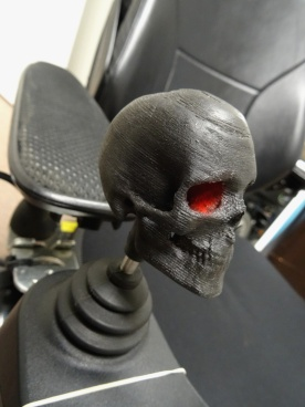 Skull Wheelchair Joystick topper