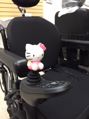 Hello Kitty Wheelchair Joystick Topper