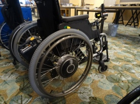 Yamaha wheelchair motor